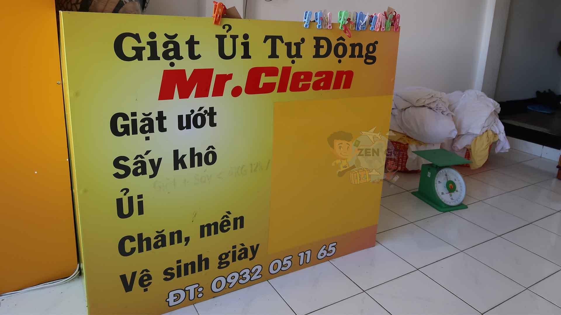 Giặt ủi Mr.Clean